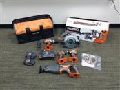 RIDGID TOOLS Combination Tool Set R9652 18V COMBO SET
